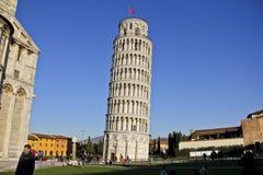 Πύργος της Πίζας, Πίζα Ιταλία στοκ φωτογραφίες