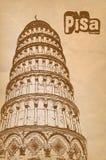Πύργος της Πίζας Στοκ Εικόνα