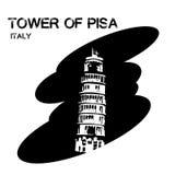 πύργος της Πίζας Στοκ Φωτογραφίες