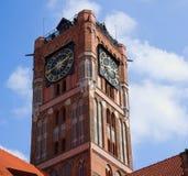 πύργος της Πολωνίας Τορούν αιθουσών πόλεων Στοκ φωτογραφία με δικαίωμα ελεύθερης χρήσης