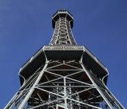 πύργος της Πράγας μετάλλω& Στοκ Εικόνα