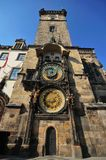 πύργος της Πράγας ρολογιών Στοκ φωτογραφία με δικαίωμα ελεύθερης χρήσης