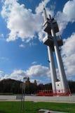πύργος της Πράγας zizkov Στοκ φωτογραφία με δικαίωμα ελεύθερης χρήσης