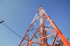 Πύργος τηλεπικοινωνιών Στοκ Εικόνες
