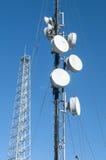 Πύργος τηλεφωνικών κεραιών κυττάρων Στοκ φωτογραφίες με δικαίωμα ελεύθερης χρήσης