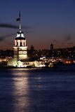 πύργος Τουρκία κοριτσιών  στοκ φωτογραφίες