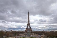 Πύργος του Άιφελ από Palais de Chaillot στο Παρίσι στοκ εικόνες