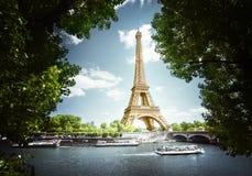 πύργος του Άιφελ Παρίσι Γαλλία Στοκ εικόνες με δικαίωμα ελεύθερης χρήσης