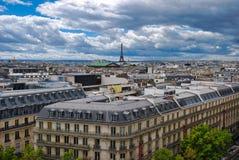 Πύργος του Άιφελ, Palais Garnier, πόλη, αστική περιοχή, ουρανός, ορόσημο στοκ φωτογραφία με δικαίωμα ελεύθερης χρήσης