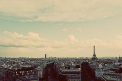 πύργος του Άιφελ Γαλλία Παρίσι Τρύγος, αναδρομικός Στοκ φωτογραφίες με δικαίωμα ελεύθερης χρήσης