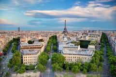 Πύργος του Άιφελ, Παρίσι, Γαλλία Στοκ Φωτογραφία