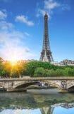 πύργος του Άιφελ Παρίσι Γαλλία Στοκ Εικόνα