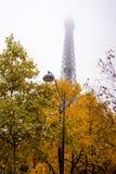 Πύργος του Άιφελ, Παρίσι μια misty ημέρα φθινοπώρου Στοκ φωτογραφίες με δικαίωμα ελεύθερης χρήσης
