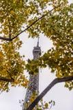 Πύργος του Άιφελ, Παρίσι μια misty ημέρα φθινοπώρου Στοκ φωτογραφία με δικαίωμα ελεύθερης χρήσης