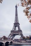 Πύργος του Άιφελ, Παρίσι μια misty ημέρα φθινοπώρου Στοκ Φωτογραφίες