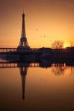 Πύργος του Άιφελ, Παρίσι Στοκ εικόνα με δικαίωμα ελεύθερης χρήσης