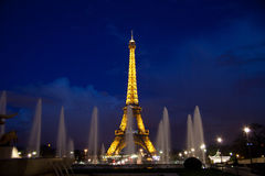 Πύργος του Άιφελ, Παρίσι Στοκ Φωτογραφία