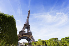 πύργος του Άιφελ Παρίσι Στοκ Φωτογραφία