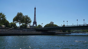 πύργος του Άιφελ Παρίσι Στοκ Εικόνες