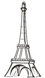 πύργος του Άιφελ Στοκ Φωτογραφίες