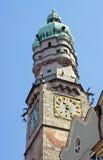 πύργος του Ίνσμπρουκ Στοκ εικόνες με δικαίωμα ελεύθερης χρήσης