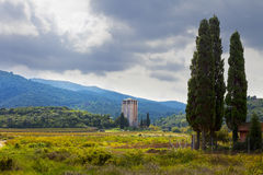 Πύργος του βασιλιά Milutin Στοκ εικόνες με δικαίωμα ελεύθερης χρήσης