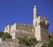 πύργος του Δαβίδ στοκ εικόνες