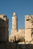πύργος του Δαβίδ Στοκ εικόνα με δικαίωμα ελεύθερης χρήσης