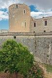 Πύργος του κάστρου aragonese Στοκ φωτογραφία με δικαίωμα ελεύθερης χρήσης