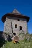 Πύργος του κάστρου Somoska, Σλοβακία Στοκ εικόνα με δικαίωμα ελεύθερης χρήσης