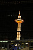 Πύργος του Κιότο Στοκ Φωτογραφίες