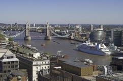 πύργος του Λονδίνου γεφυρών Στοκ Εικόνες