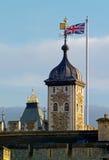 πύργος του Λονδίνου λεπτομέρειας Στοκ Εικόνες