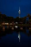 Πύργος του Μακάο τη νύχτα Στοκ εικόνα με δικαίωμα ελεύθερης χρήσης