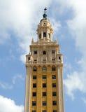 πύργος του Μαϊάμι ελευθ&epsi στοκ φωτογραφία