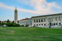 Πύργος του Μπέρκλεϋ Sather Πανεπιστημίου της Καλιφόρνιας Στοκ Φωτογραφίες