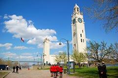 πύργος του Μόντρεαλ ρολογιών Στοκ φωτογραφίες με δικαίωμα ελεύθερης χρήσης