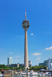 πύργος του Ντίσελντορφ rheintur Στοκ Εικόνες
