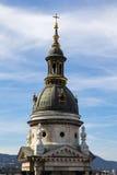 Πύργος του παρεκκλησιού του ST Stephen& x27 καθεδρικός ναός του s στη Βουδαπέστη Ουγγαρία Στοκ εικόνα με δικαίωμα ελεύθερης χρήσης