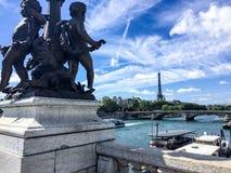 Πύργος του Παρισιού Άιφελ Στοκ Εικόνες