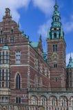 Πύργος του παλατιού του Frederiksborg, Δανία Στοκ Εικόνα