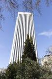Πύργος του Πικάσο που βρίσκεται στην οικονομική περιοχή της Μαδρίτης στοκ εικόνα με δικαίωμα ελεύθερης χρήσης