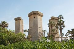 Πύργος του ποταμού στοκ εικόνα