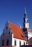 πύργος του Πόζναν αιθουσών πόλεων Στοκ εικόνες με δικαίωμα ελεύθερης χρήσης
