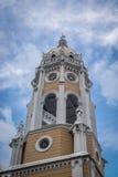 Πύργος του Σαν Φρανσίσκο de Asis Church σε Casco Viejo - την πόλη του Παναμά, Παναμάς Στοκ Εικόνες