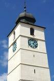 Πύργος του Συμβουλίου στο Sibiu, Ρουμανία Στοκ Εικόνες