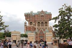 Πύργος του τρόμου στο Τόκιο DisneySea στοκ εικόνες