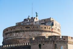 Πύργος του Castle του ιερού αγγέλου στη Ρώμη Στοκ Φωτογραφία