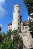 Πύργος του Castle Lichtenstein Στοκ εικόνα με δικαίωμα ελεύθερης χρήσης