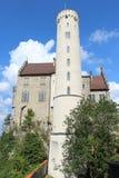 Πύργος του Castle Lichtenstein Στοκ φωτογραφία με δικαίωμα ελεύθερης χρήσης